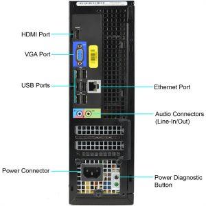 REFURBISHED DELL Desktop PC 3010 SFF i5 4GB RAM 250GB HDD 6 Months Warranty