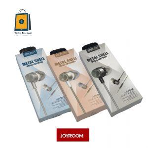 JOYROOM EL113 Metal Shell Music Earphone (NEW) One To One Warranty