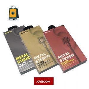 JOYROOM JR-ET505 Metal Stereo In-Ear Headphone (NEW) One to One Warranty